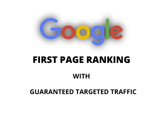 google top ranking in first page with backlinks