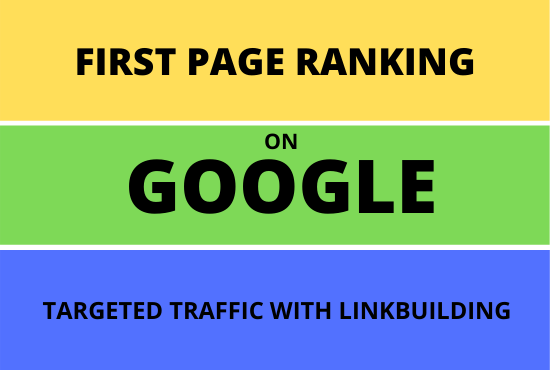 I will offer your site on google first page