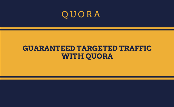 niche relevent traffic with 10 quora answers