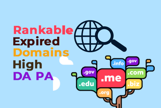 I will Research expired domain with high metrics for you