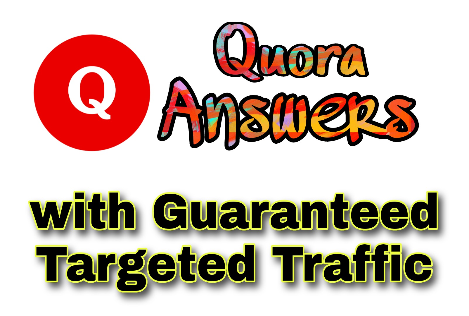 50 Quora Answers with Targeted Traffic