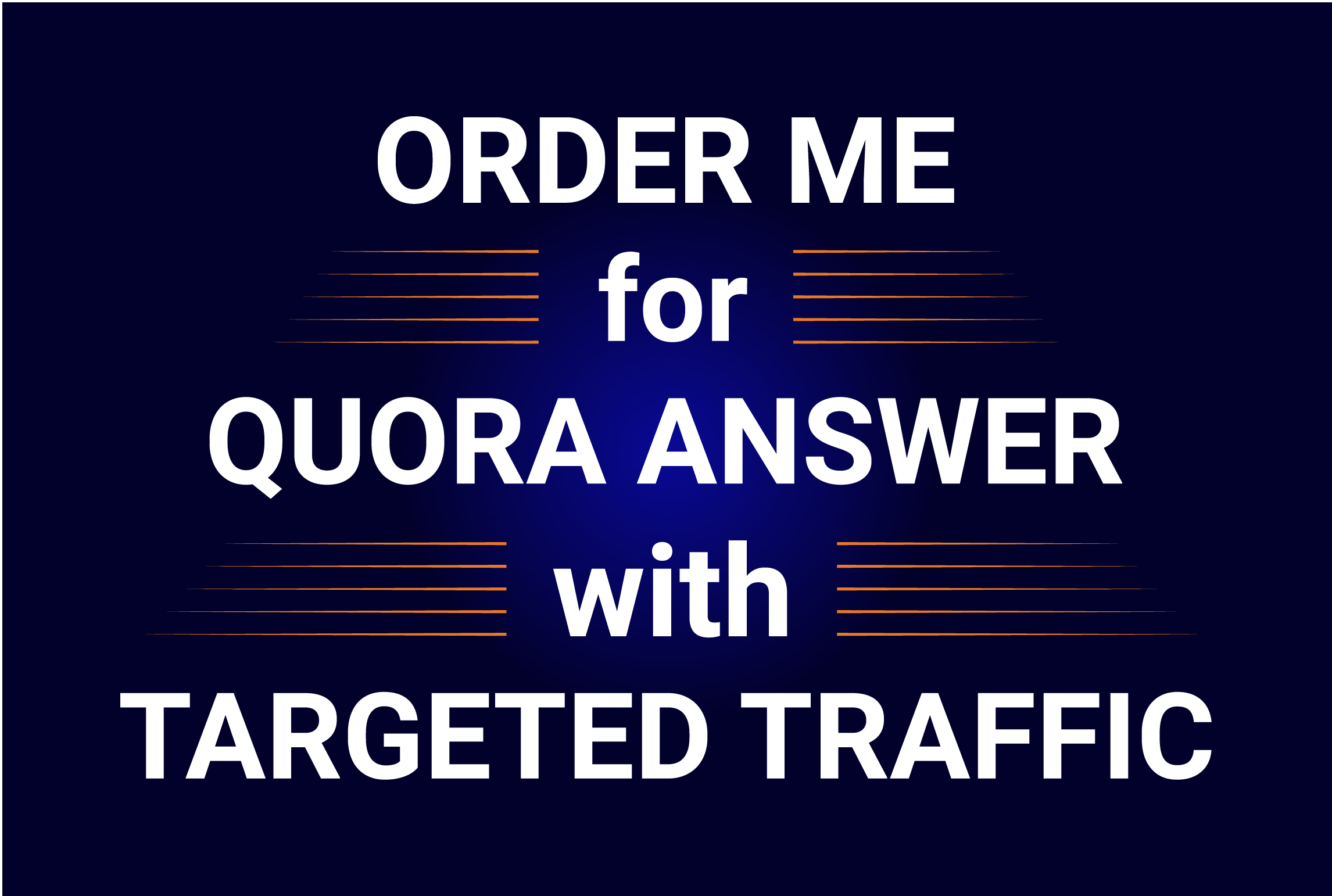 Order Me for 5 Quora Answer with Targeted Traffic