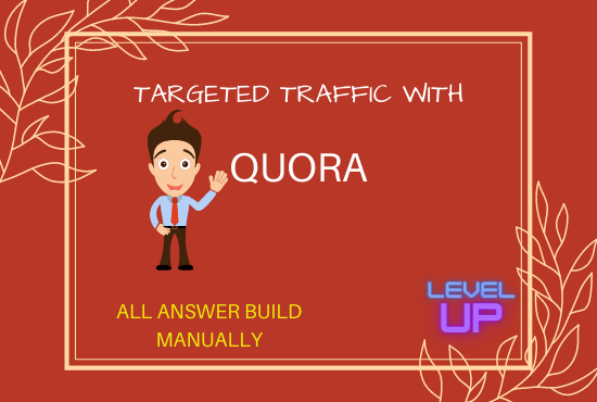 Bring niche relevant traffic with 50 HQ Quora Answer