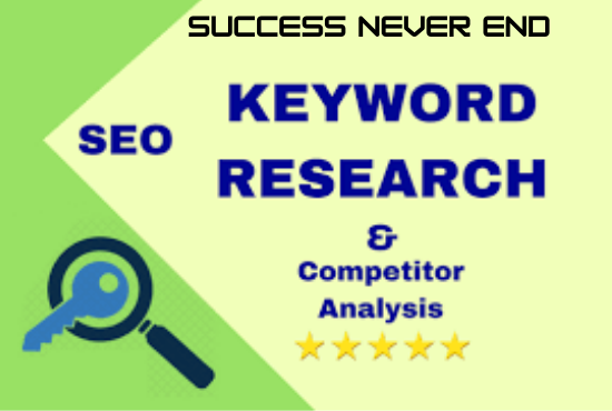 I will research and find the excellent SEO keywords for your website