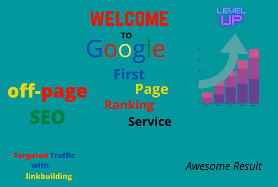 I will do Google first page ranking with best link building service