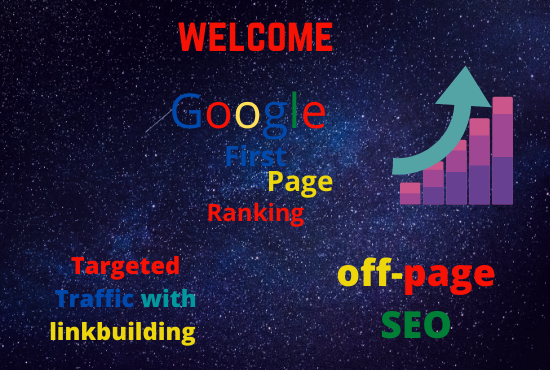 Rank your website/ Business on Google first page with best link building service