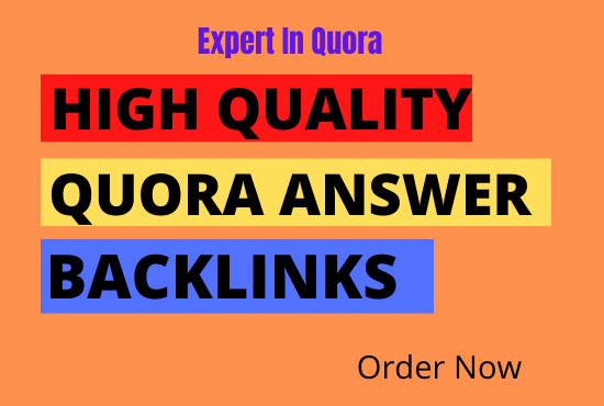 I will create 40 HQ QUORA ANSWER to Promote your website