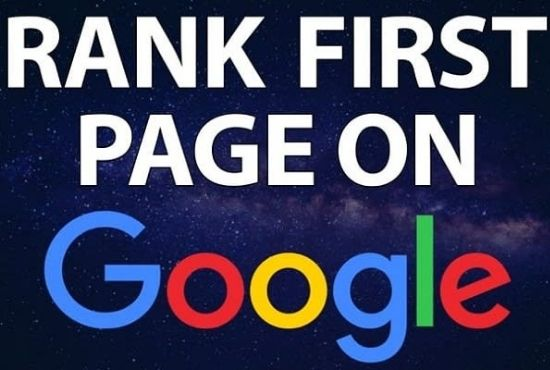 Google First Page Ranking SEO Guaranteed Service