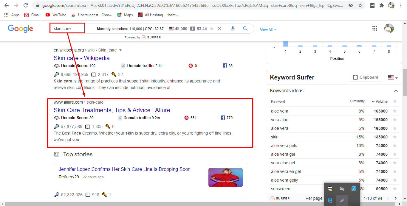 provide guaranteed google 1st-page ranking with link building service