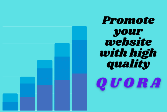Achieve your targeted traffic with 40 high quality QUORA answer
