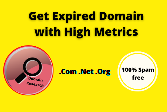 find 10 niche relevant expired domain 15+ DA PA