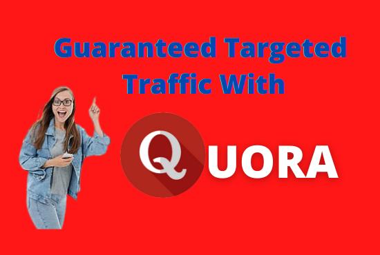 promote website with niche relevant 20 HQ Unique Quora Answers
