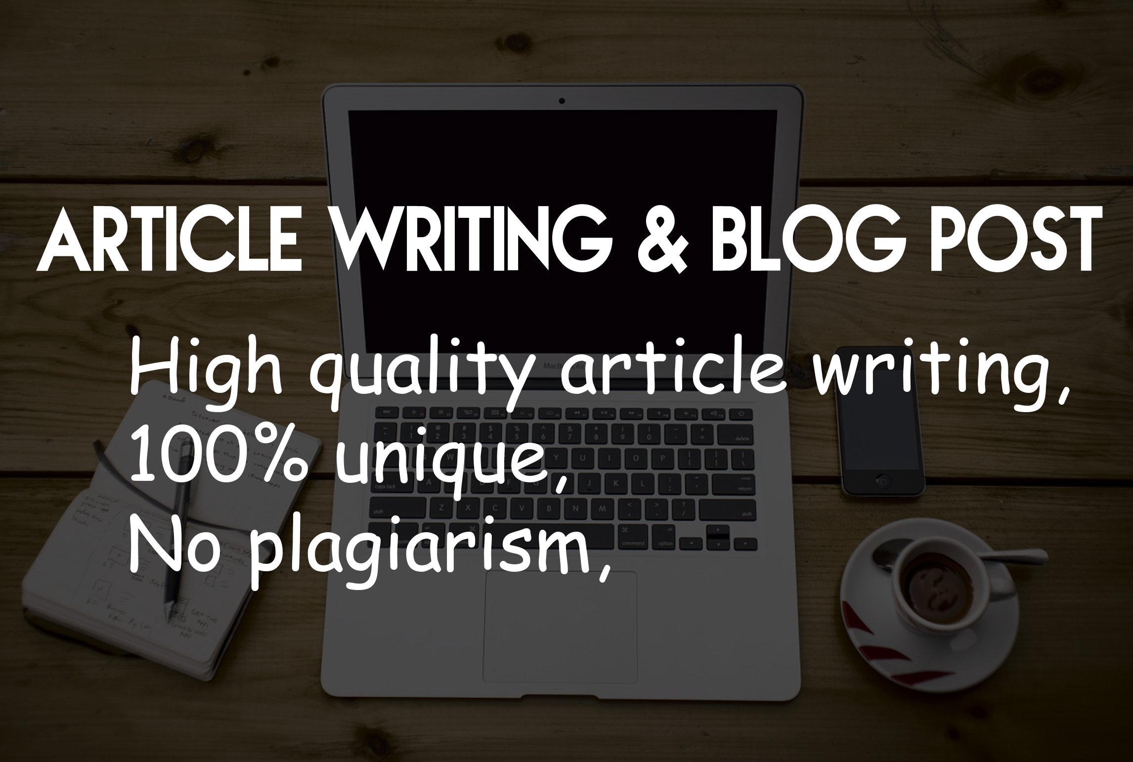 I will write 500 words article writing by your niche