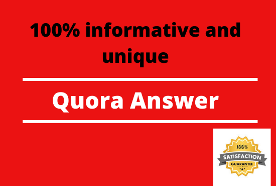 Promote Your Site with 20 Manually and Unique Quora Answer
