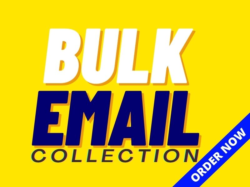 I will collect 5K niche targeted and verified bulk email list for your email marketing