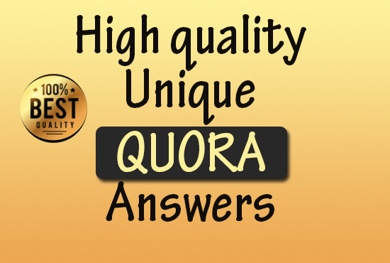 20 Quora answers with Gurranted Targeted Traffic