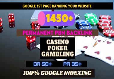 buy one get one package free 1450 Permanent PBN UFA/CASINO/GAMBLING/POKER/Betting /Judi BOLA RELATED