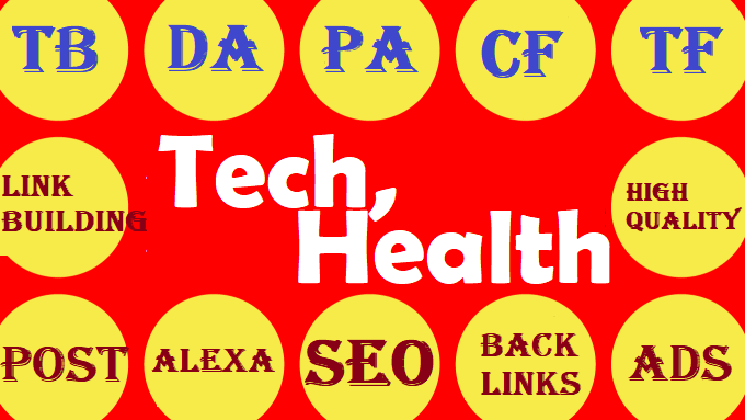Best offer on 2021 - Write and Publish Guest Post on Tech or Health or Fashion or Business Blogs