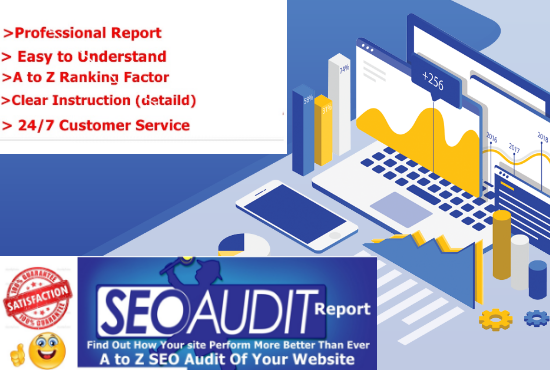 I will provide a professional and expert SEO audit report