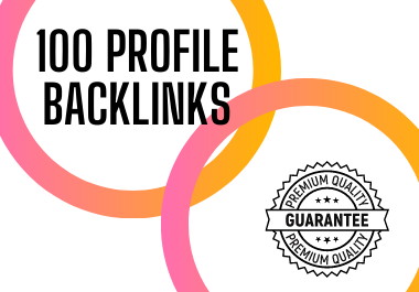 I will manually create profile backlinks from high DA websites for your website.