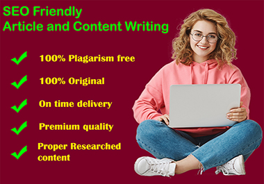 500 Words SEO Friendly Amazing Content Writing