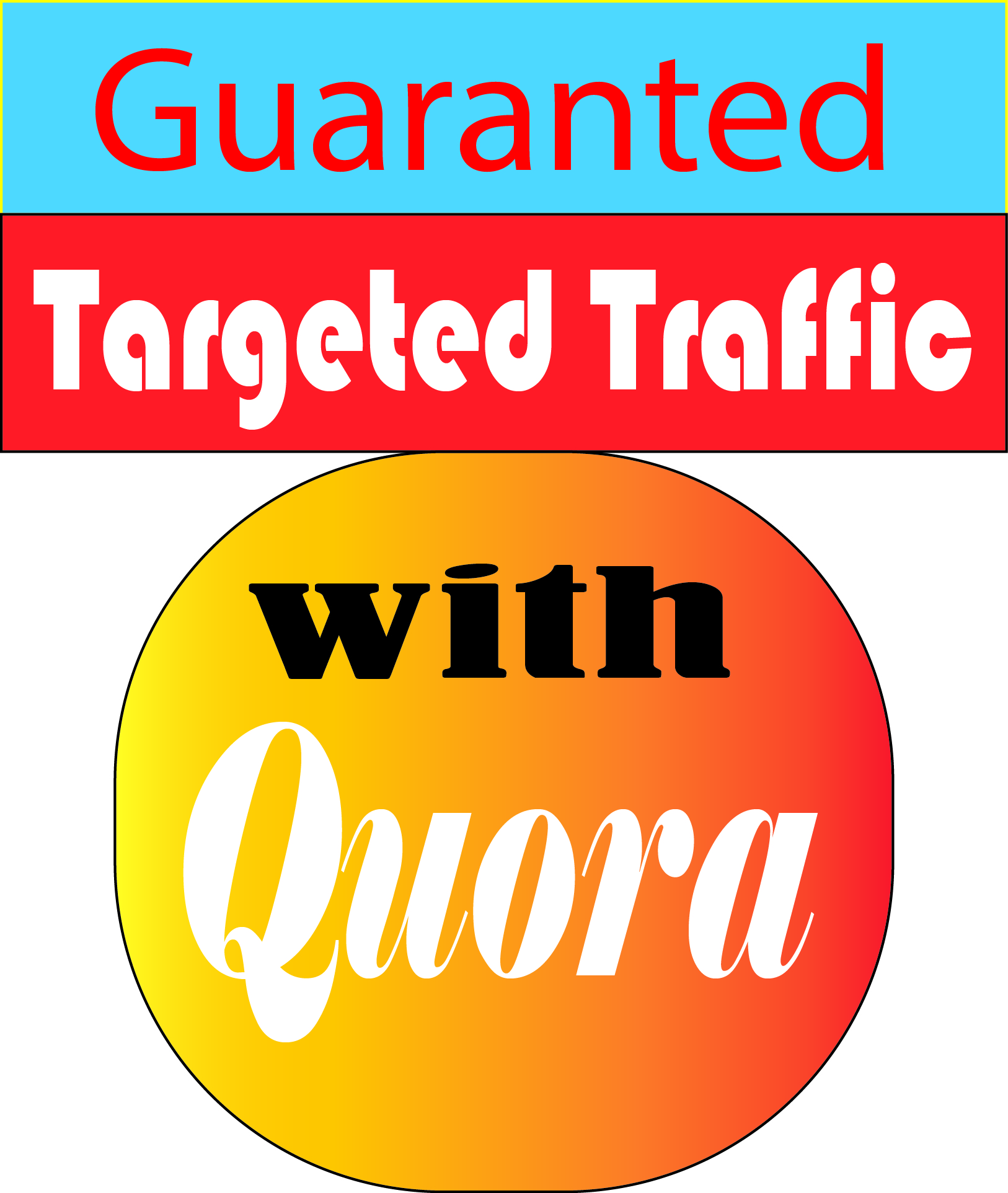 Guaranted Targeted Traffic With Quora 60 answers