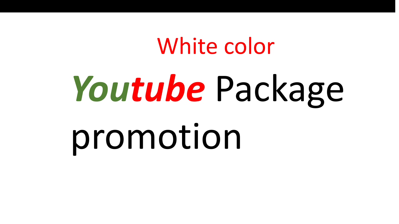 Instant High Quality Youtube Package promotion by 3lion11