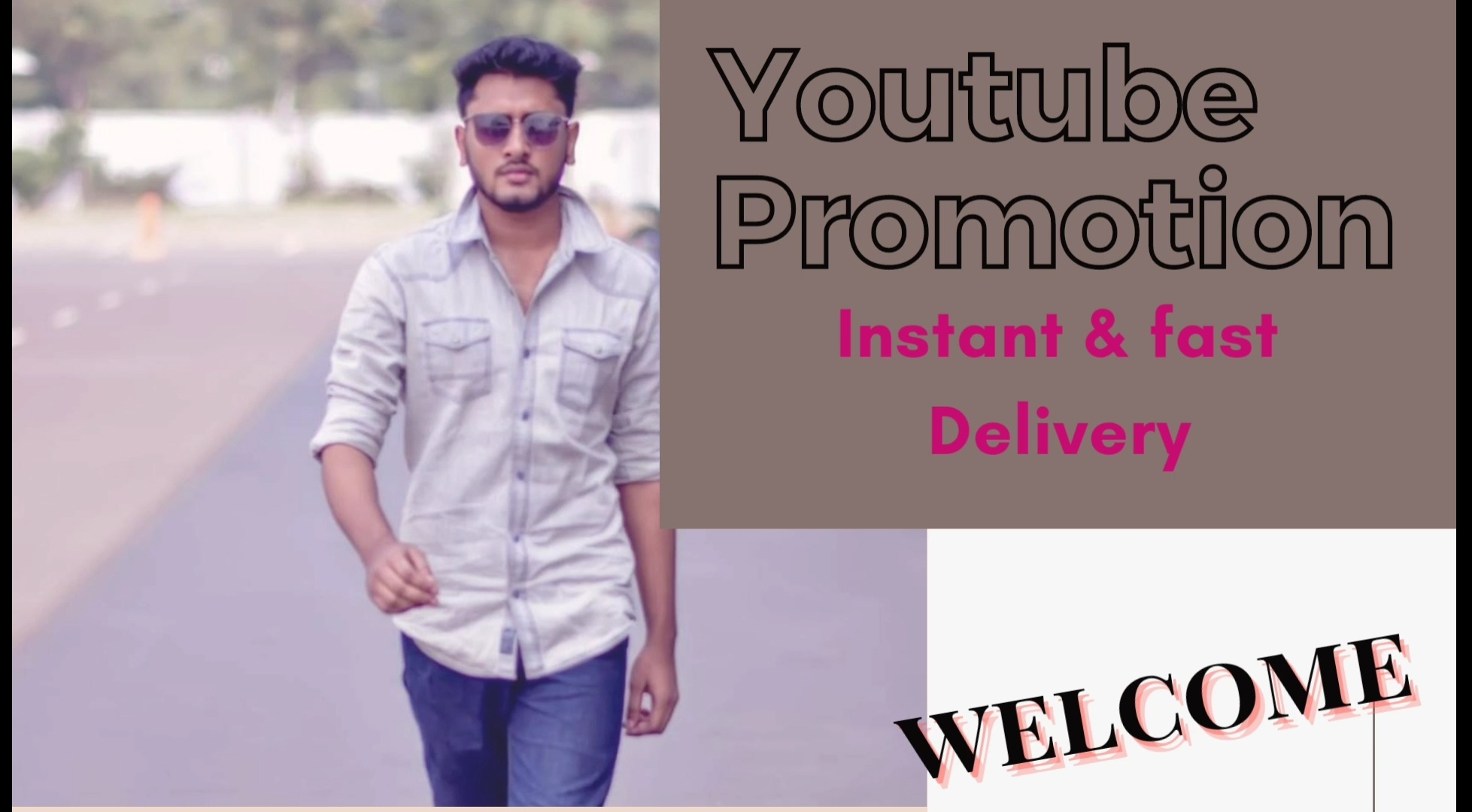 High Quality Youtube promotion safe & fast delivery by 3lion11