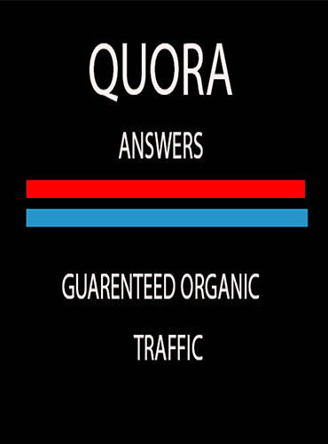 I will provide 30 HQ Quora answers service for you