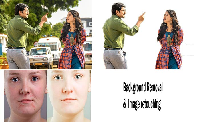 I will do professional background removal & retouching any 5 image 24hr delivery