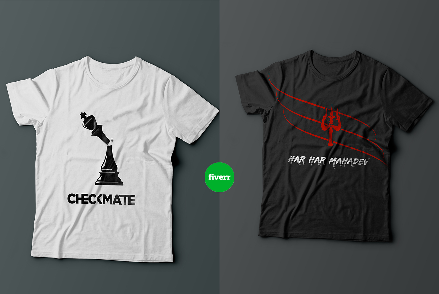 I will create creative t shirt design