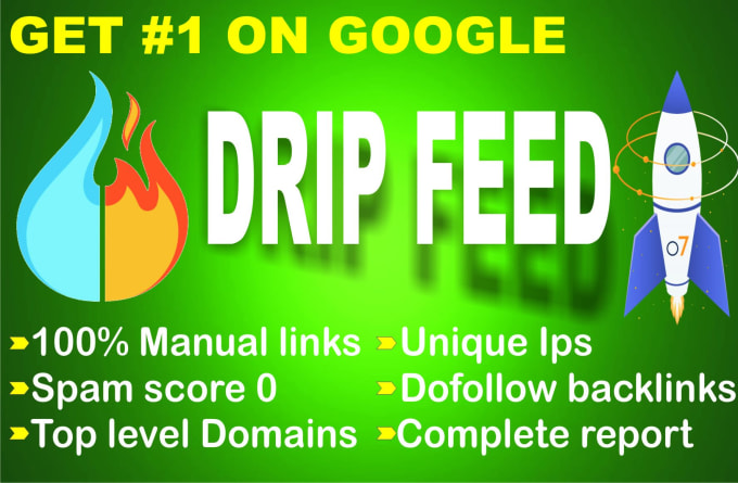 Create manual 30 days high quality dreepfeed off-page seo dofollow backlinks