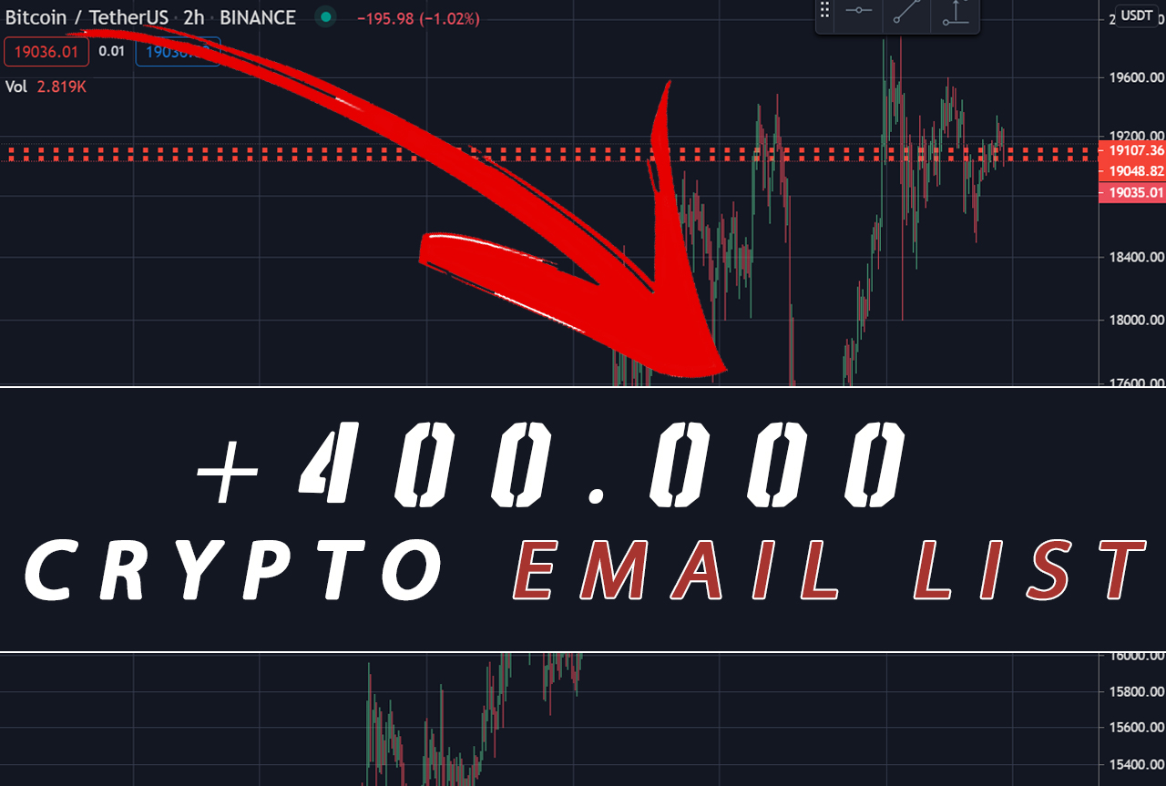 I will give you my cryptocurrency investor email list