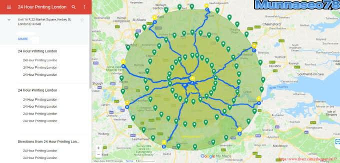Do 2000 google maps citations for local business SEO