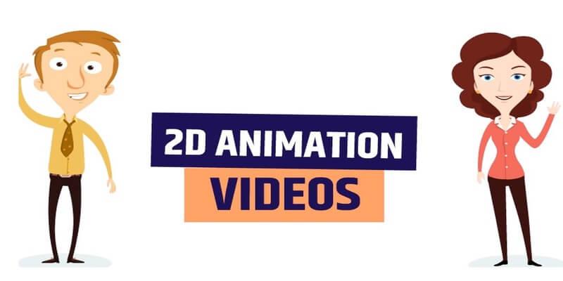 2D Animation for social media etc
