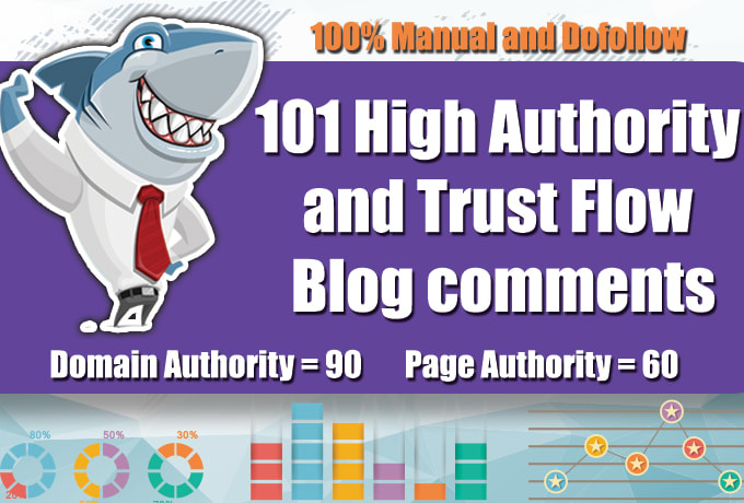 I will do 101 high quality dofollow blog comments backlink