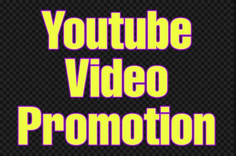 Youtube video promotion very fastly deliver