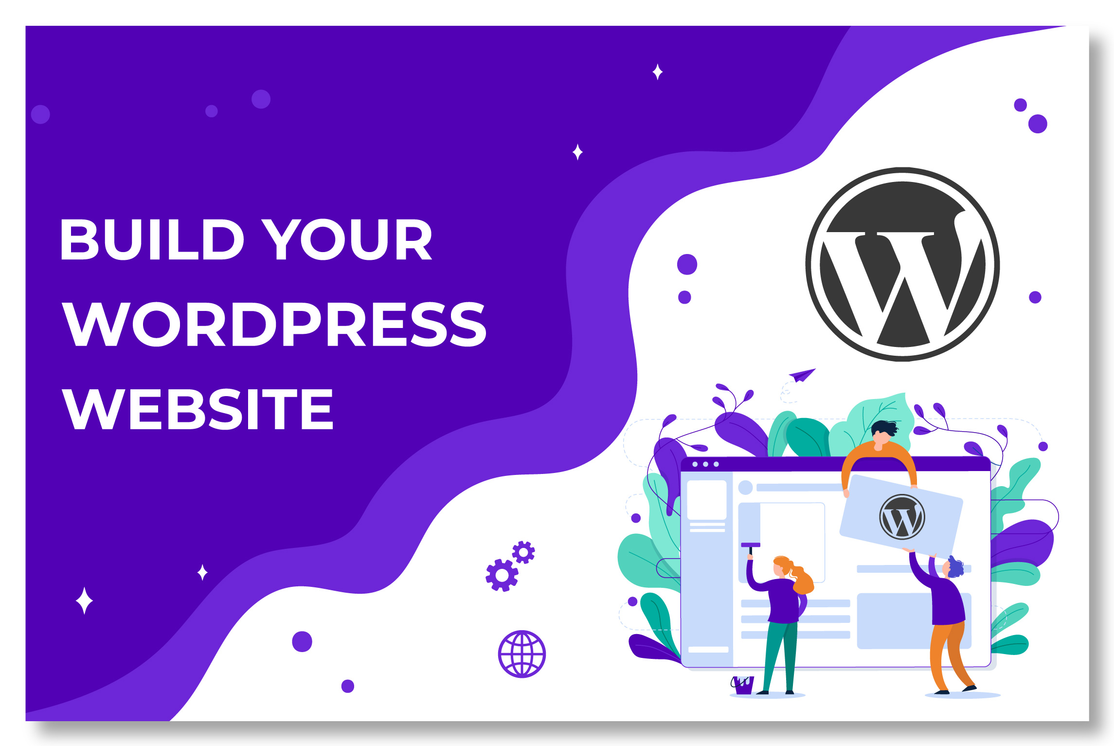 I will create business and portfolio WordPress website