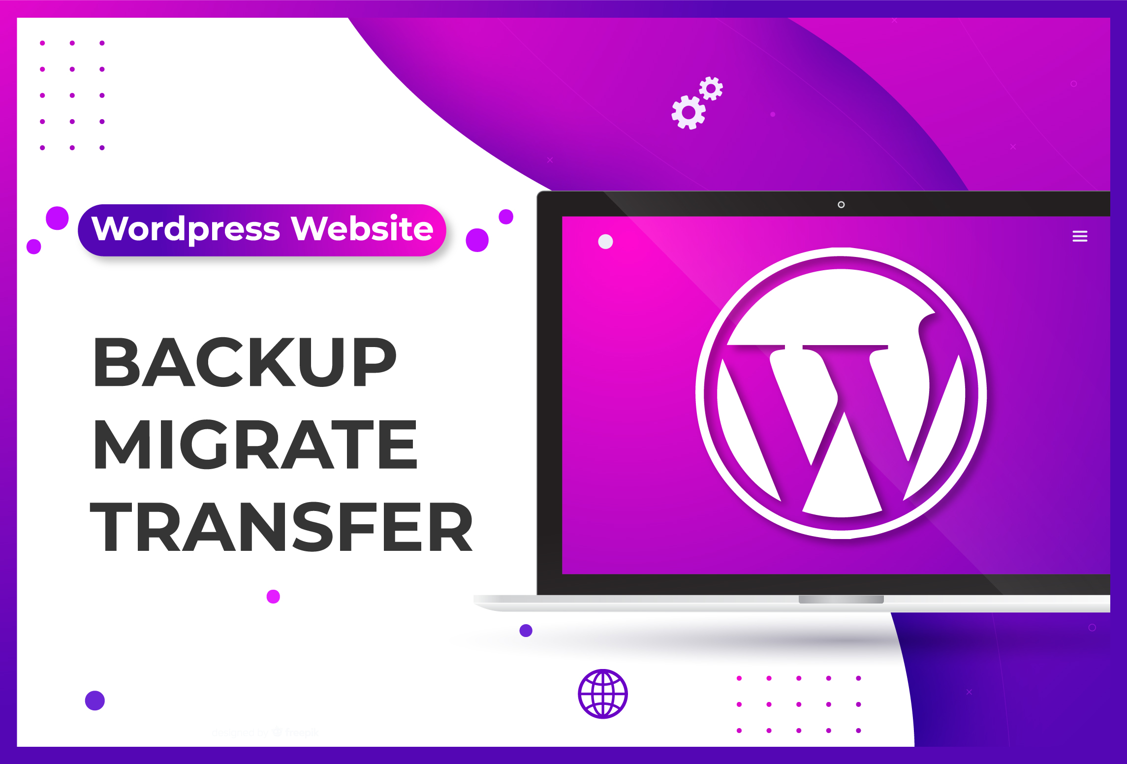 I will backup your WordPress website
