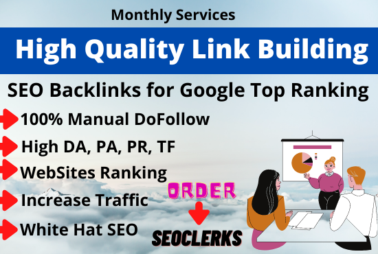 I will do High quality SEO backlinks manual link building in USA