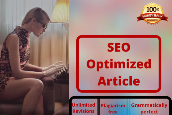 I will write 500+ SEO words of article for your blogs and website to rank your site on Google.
