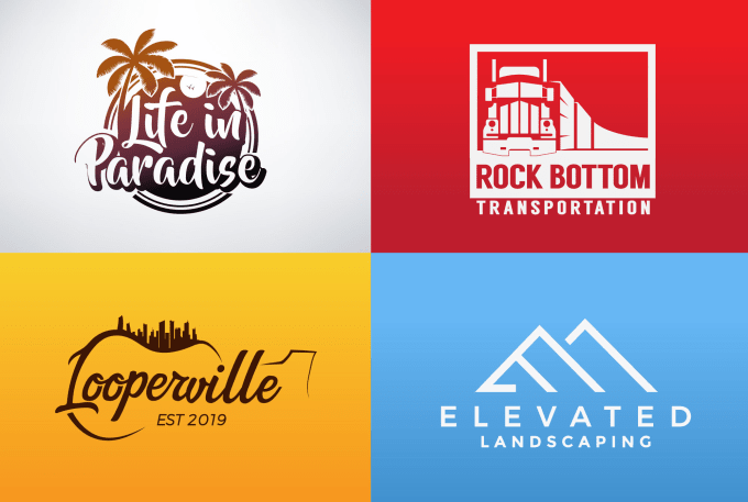 3-4 Concepts professional logo designer in 24hrs