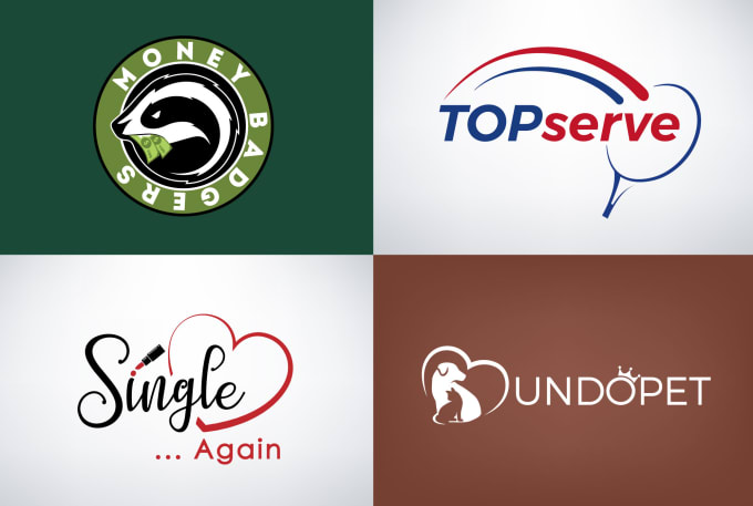 (3-4 Concepts) professional logo designer in 24hrs