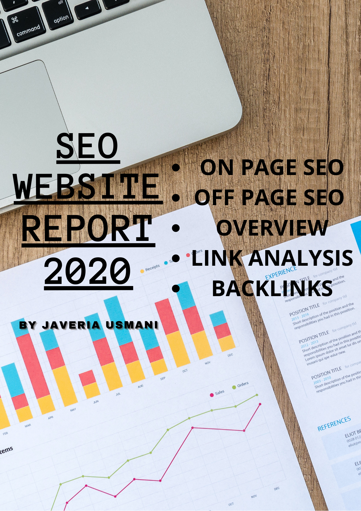 I will prepare a comprehensive SEO analysis web report in 6 hours