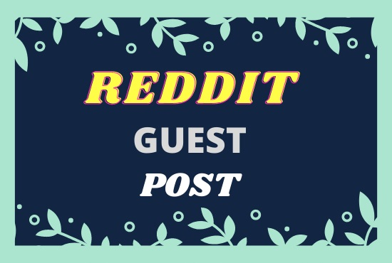 Promote your website with 05 high quality reddit post