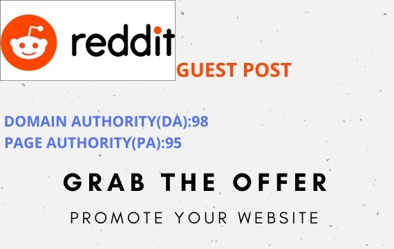 Promote Your Website with 10 High Quality Reddit Guest Post