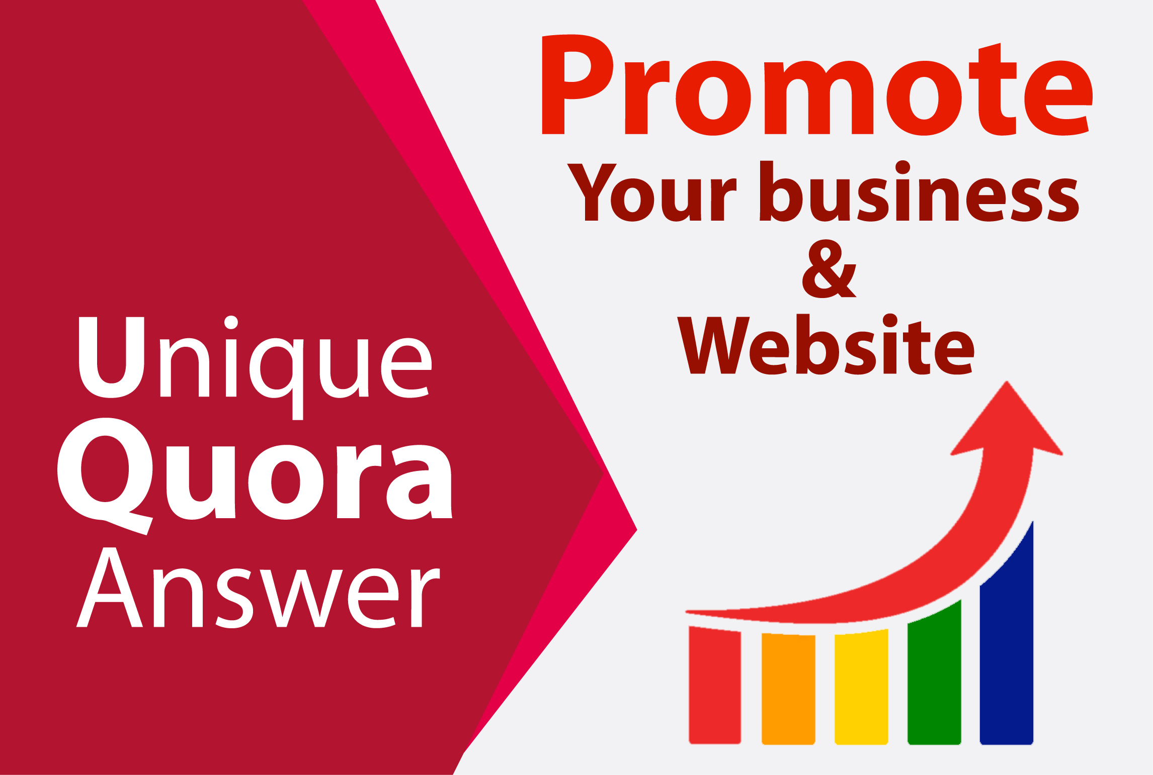Promote your website 3 high quality quora answer