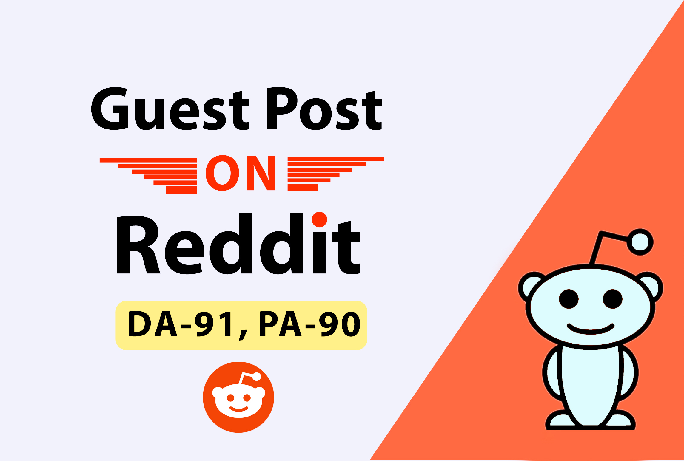 Write And Publish 10 Guest Post On Reddit. Com