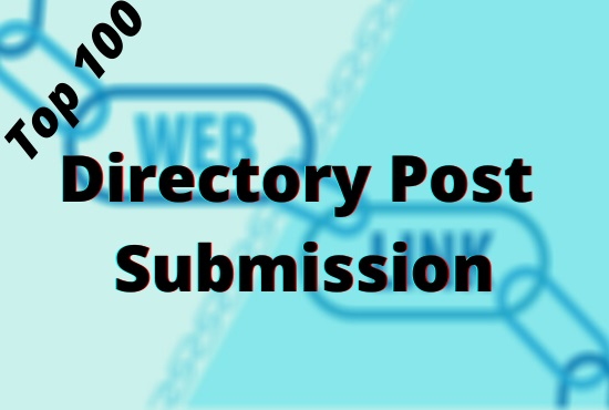 100 directory post with your URLS and Keywords