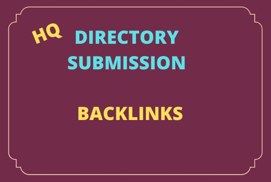 Get 100 HQ Directory Submission